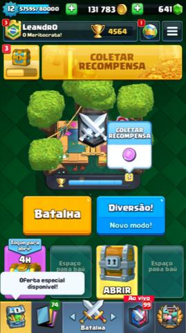 Conta Clash Royale Completa