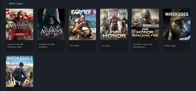 venda Conta Ubisoft