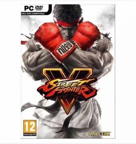 Street Fighter V Pc Mídia Física Lacrado Original