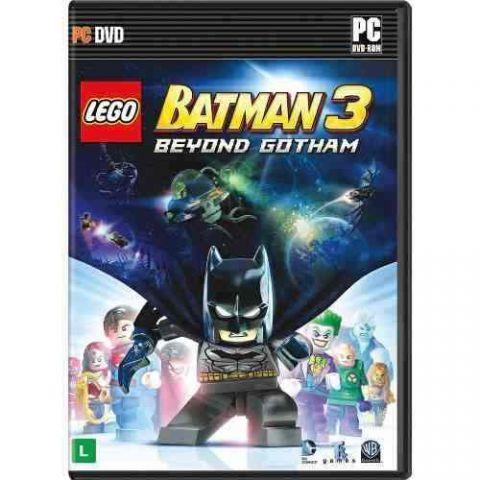 Lego Batman3 Beyond Gotham Pc Mídia Física Lacrado