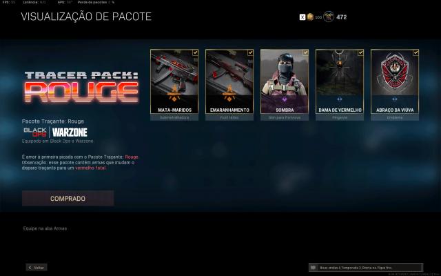 Desapego Games - Conta warzone com darkmatter + CW - Xbox One, PC, PlayStation 4