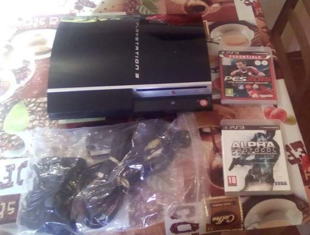 Playstation 3 e 2 jogos