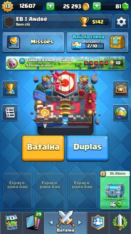 Conta Clash Royale LVL 13