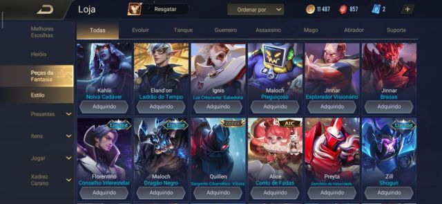 Desapego Games - Arena Of Valor - iOS (iPhone/iPad), Mobile, Android