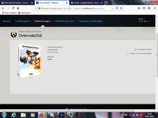 conta battle.net com overwatch origins