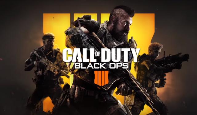 troca Call of Duty: Black Ops 4