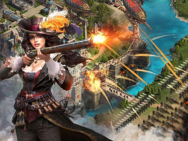 venda Guns of Glory level 33 Castle