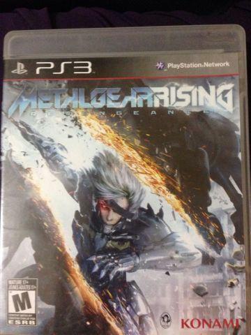 Jogo Metal Gera Rising PS3