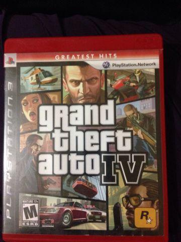 Jogo GTA 4 PS3