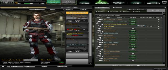 Conta Combat Arms MAJ 3