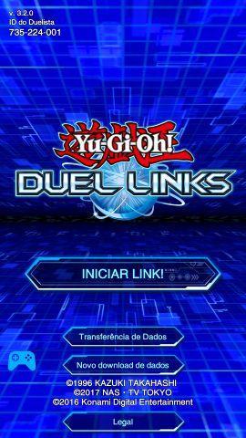 Conta Yugioh duel links