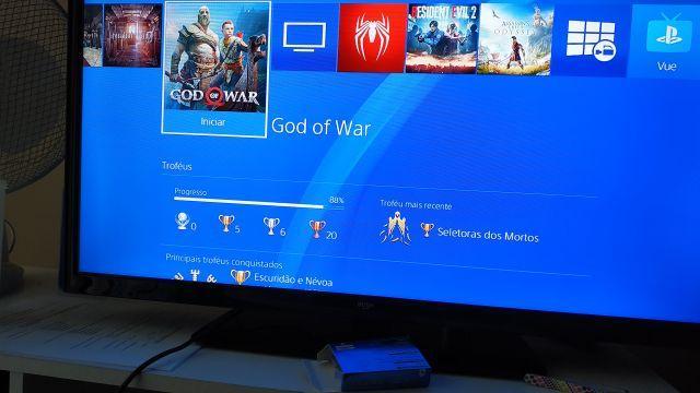 God of war 4 PARA TROCA