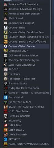 venda Conta Steam com CyberPunk2077 +40 Games
