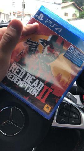 venda Read Dead Redemption II 2 PS4