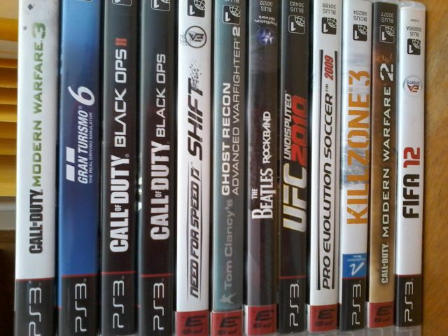 Games Play 3 pra trocar!