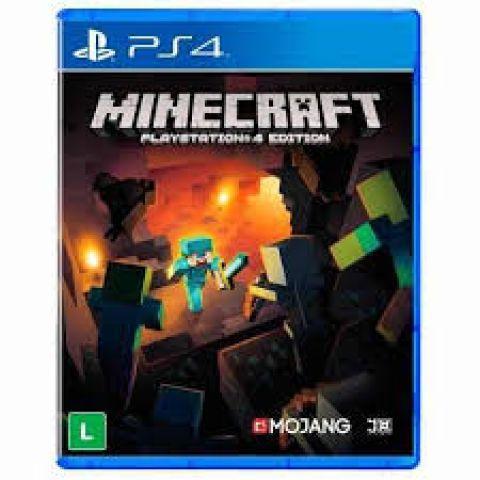 Desapego Games - Minecraft Ps4 Mídia Física Novo  - PlayStation 4