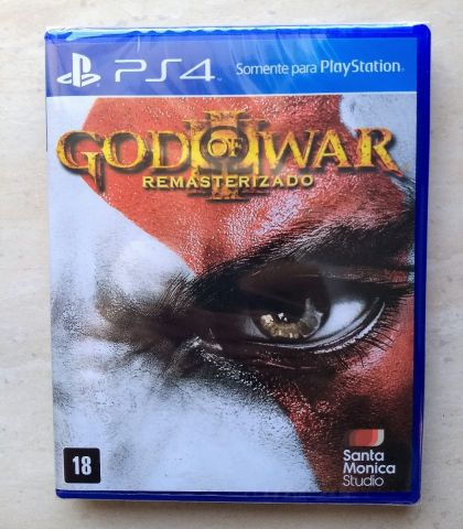 troca God Of War Iii 3 Ps4 Mídia Física Remastered