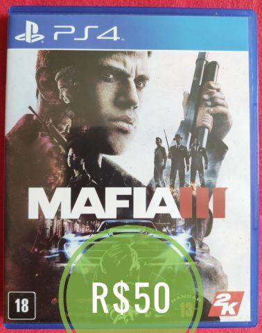 Desapego Games - Máfia III - PlayStation 4