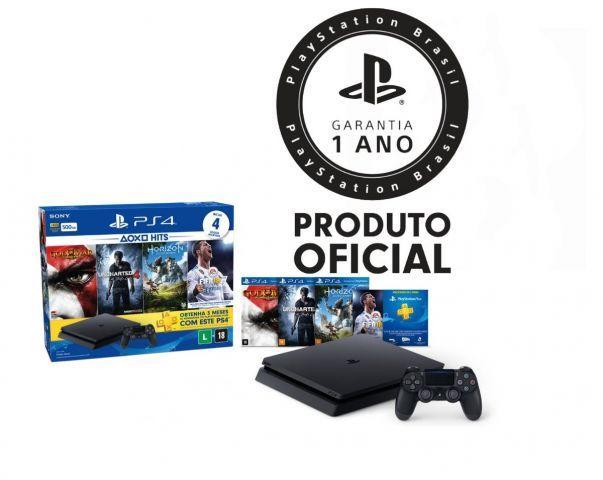 PS4 SLIM NOVO HITS BUNDLE 2