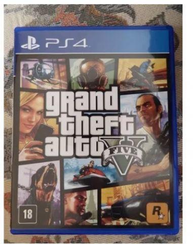 Grand Theft Auto V (gta 5) - Ps4 - Mídia Física