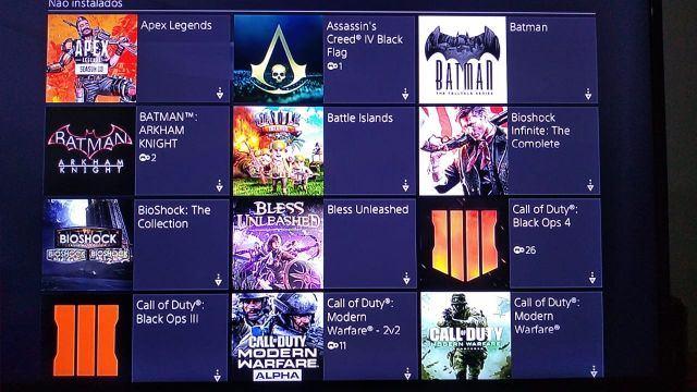 venda Conta PSN com mais de 100 jogos