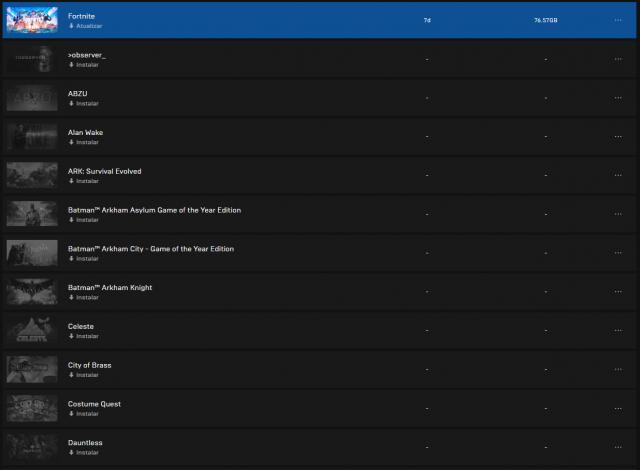 venda Conta Epic Games + Fortnite