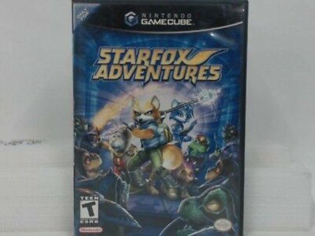 Desapego Games - Star Fox Adventures - GameCube - GameCube