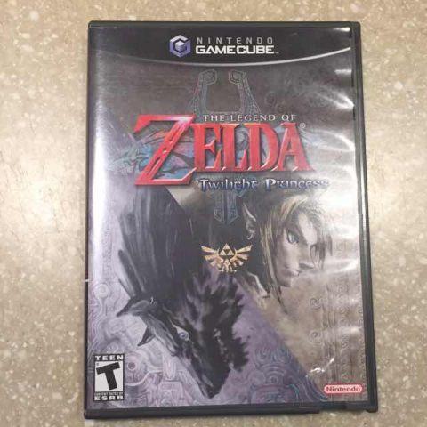Desapego Games - The Legend Of Zelda: Twilight Princess - GameCube - GameCube