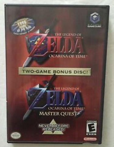 Desapego Games - The Legend of Zelda: Ocarina of Time Master Quest  - GameCube