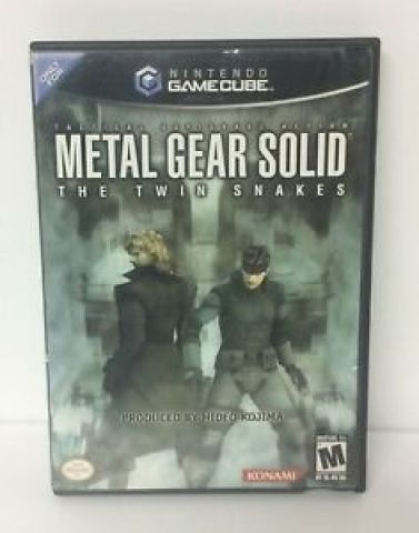 Desapego Games - Metal Gear Solid: The Twin Snakes - GameCube - GameCube