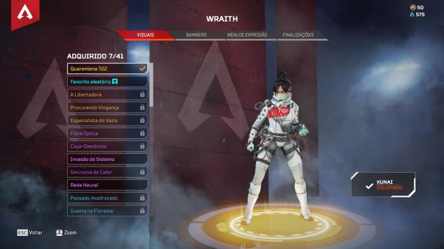 Herança Wraith Apex Legends PC - Eletronic Arts