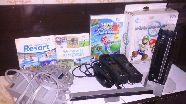 venda Nintendo Wii Completo Original / Jogos e Controles