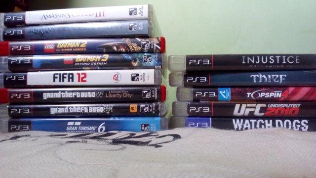 13 jogos p/ PS3