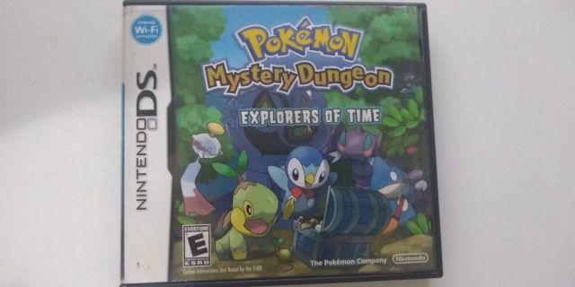 venda Pokémon Mystery Dungeon explorers of time