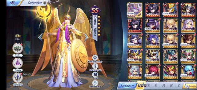 Saint Seiya Awakening Lvl 57 S/ Vínculos