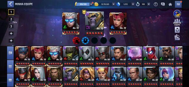 venda conta future fight