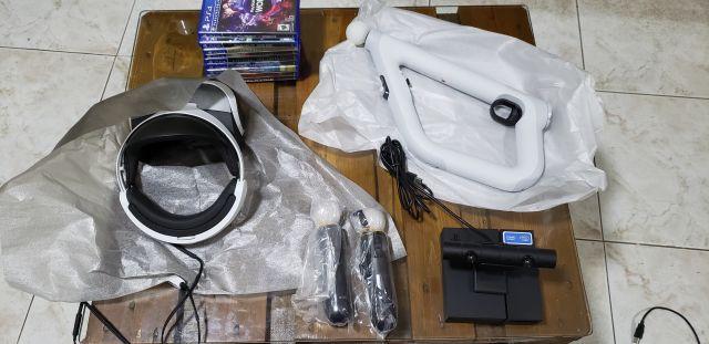 PS4 VR kit completo novo