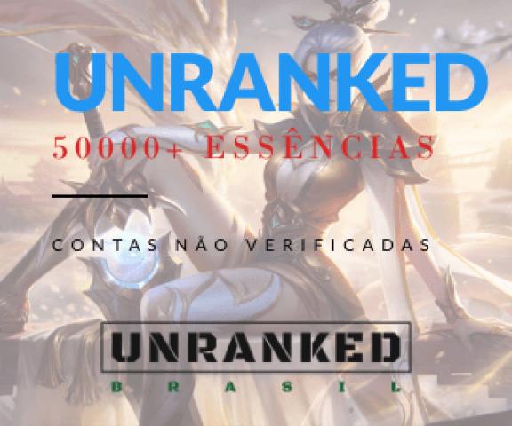 venda Contas Legue OF Legends   Unraked/Smurf