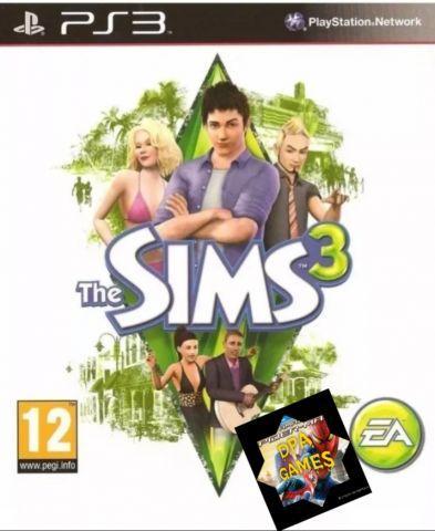 THE SIMS 3 PS3 + 1 JOGO GRATIS