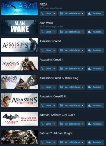 Contas Steam + Epic Games + Origin com 100 jogos