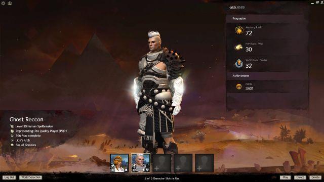 venda Conta Guild Wars 2 + expansões