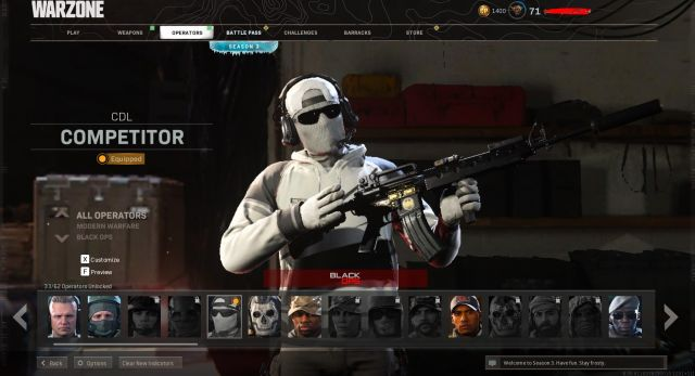 Desapego Games - CONTA WARZONE - PC, Xbox One, Outros, PlayStation 4