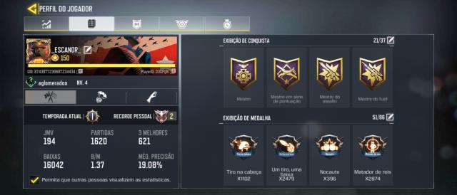 Desapego Games - Up Conta de Call of Duty Mobile para Lendário - Serviços, Mobile