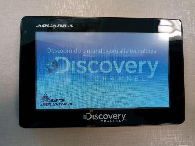 GPS Aquarius Discovery 4.3 TV Digital Câmera de Ré