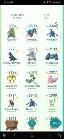 Vendo Conta De Pokémon Go