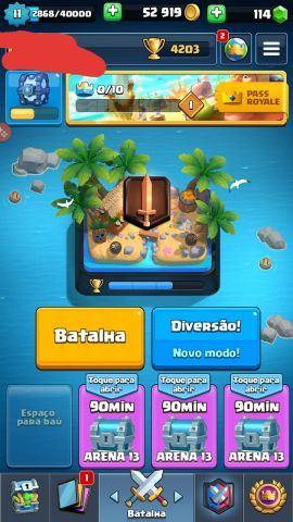 venda Conta de clash royale nivel 11