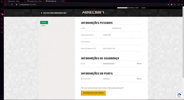 troca Conta Minecraft Trocar Por Conta lol Elo OURO +