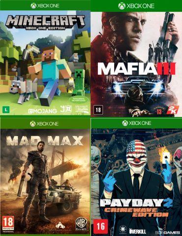 Jogos Xbox One Midia Fisica Usados Originais