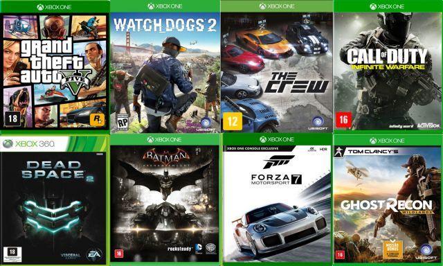 venda Jogos Xbox 360/One Midia Fisica Usados Originais
