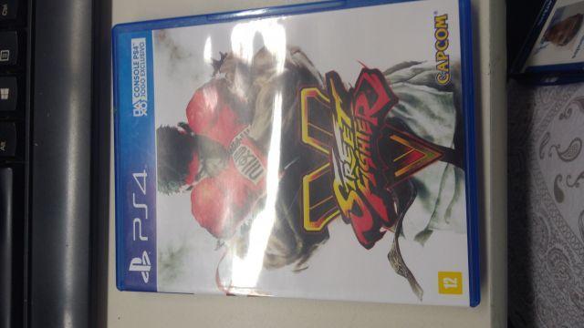 Desapego Games - Street Fighter V - PlayStation 4